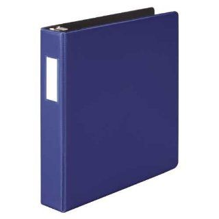 Wilson Jones Heavy Duty D Ring Binder, 1.5 Inch Capacity, Dark Blue (W384 34BLPP)  Office D Ring And Heavy Duty Binders