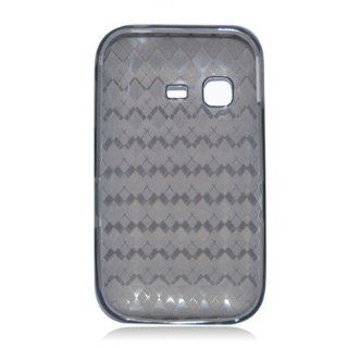 For NET10 Straight Talk Samsung S390G Soft TPU SKIN Case Transparent Black