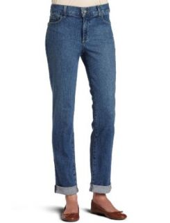 NYDJ Womens Relaxed Cuff Ankle Montreal Wash Jeans, Montreal Wash Jeans, 16