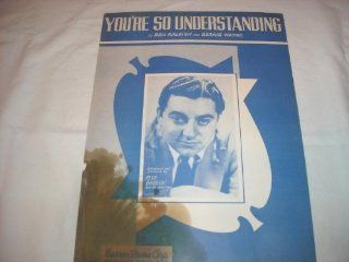 YOURE SO UNDERSTANDING BLUE BARRON 1949 SHEET MUSIC SHEET MUSIC 310: Music
