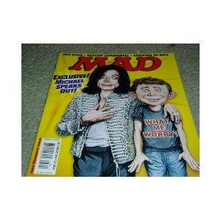Mad Magazine Issue # 438 February 2004 Michael Jackson cover E.C. Comics Books
