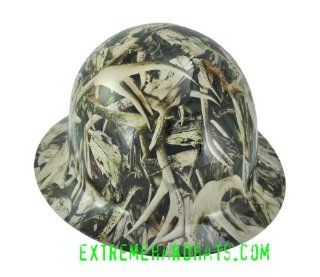 Next Bonz Deer Skulls Camo MSA SKULLGARD Hard Hat w/Ratchet Suspension   Hardhats