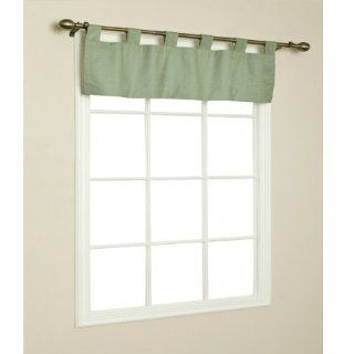 Thermalogic 70292 438 714 Weathermate Solid Insulated Color Tab Top Valance in Sage   Window Treatment Valances