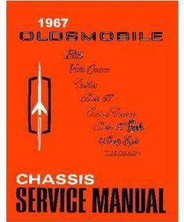 1967 Oldsmobile 98 88 442 Cutlass F85 Shop Service Repair Manual Book Engine Automotive