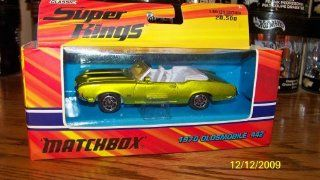 Matchbox Super Kings Classic 1970 Oldsmobile 442 Convertible Green K 204: Toys & Games