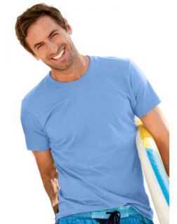 Hanes Men's ComfortBlend� EcoSmart� Crewneck T Shirt, XXL Carolina Blue at  Men�s Clothing store