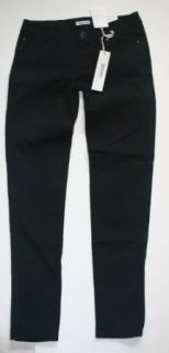 Hang Ten Junior Girl's/Women's Skinny Jeans with Lace Sides   Black (3)