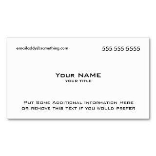 To Avery 8875 Business Card Template