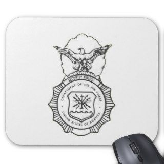 United States Air Force Security Forces Shield Mousepad