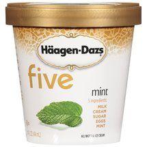 Haagen Dazs Five Mint Ice Cream, 14 oz Frozen Foods