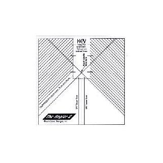 The Angler 2 Sewing Template Pam Bono   Other Quiilting Supplies