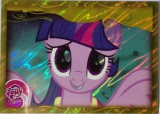 """2013   MY LITTLE PONY """"FRIENDSHIP IS MAGIC"""" (SERIES 2)   TWILIGHT SPARKLE   GOLD FOIL CARD #G4 Toys & Games"""
