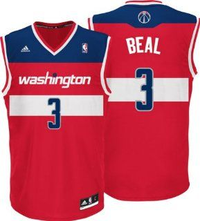 Bradley Beal Adidas Revolution 30 Nba Replica # Washington Wizards Jersey  Sports Fan Jerseys  Sports & Outdoors