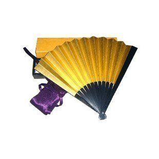Eight sun tessen special gold folding fan bag ancient rite, outside with box (japan import) Sports & Outdoors
