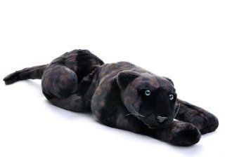 Black Soft 18 inch bean filled plush Panther [Toy] Toys & Games
