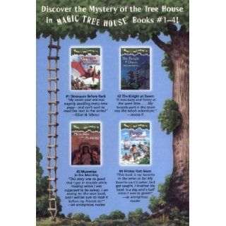 Magic Tree House Boxed Set, Books 1 4: Dinosaurs Before Dark, The Knight at Dawn, Mummies in the Morning, and Pirates Past Noon: Mary Pope Osborne, Sal Murdocca: 0090129015962: Books