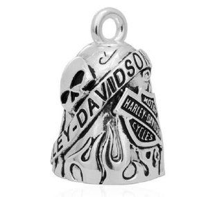 Harley Davidson 'Class Of It's Own' Skull/Bar & Shield Ride Bell HRB044: Jewelry