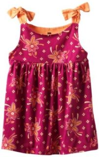 Tea Collection Girls 2 6X Venda Shoulder Tie Tunic, Fruit Punch, 2: Fashion T Shirts: Clothing