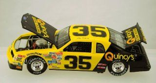 Action   Elite   NASCAR   Alan Kulwicki #35   1986 Ford Thunderbird   Quincy's Steak House   Rare   1:24 Scale Die Cast   #501 of 504   Limited Edition   Collectible: Toys & Games