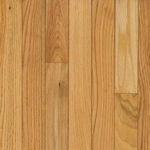 Bruce American Originals Natural Oak 5/16 in. Thick x 2 1/4 in. Wide Solid Hardwood Flooring (40 sq. ft. / case) SNHD2210
