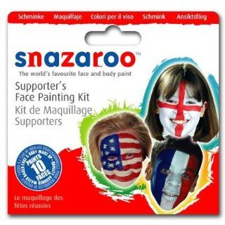 Snazaroo Face Paint Theme Pack Kit   Football Supporters [Toy] [Toy] Toys & Games