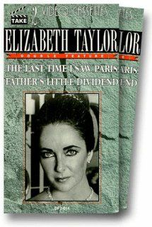 Last Time I Saw Paris/Fathers Little Dividend [VHS]: Elizabeth Taylor, Van Johnson, Spencer Tracy, Joan Bennett, Walter Pidgeon, Donna Reed, Eva Gabor, Kurt Kasznar, George Dolenz, Roger Moore, Sandy Descher, Celia Lovsky, Richard Brooks, Vincente Minnelli