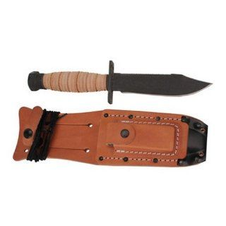 Ontario Knives Air Force Survival w/ Sheath 499 : Fixed Blade Camping Knives : Sports & Outdoors