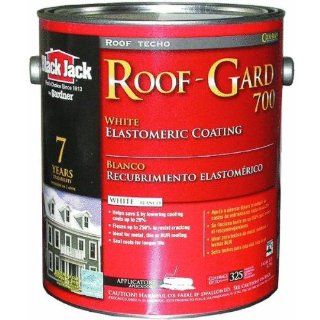 BLACK JACK ROOF GARD 700 WHITE ELASTOMERIC ROOF COATING   5527 1 20 (Pack of 4)   Roofing Materials