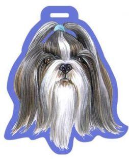Dog Breed Luggage Tag   Shih Tzu Puppy Dog: Clothing