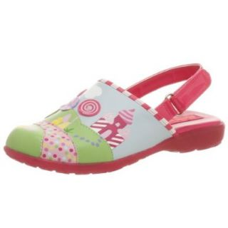 Stride Rite Toddler/Little Kid Sweet Tooth Clog, Hot Pink/Multi, 8 M US Toddler Sandals Shoes