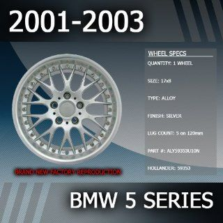 """2001 2003 BMW 5 Series Factory 17"""" Replacement Wheel Automotive"""