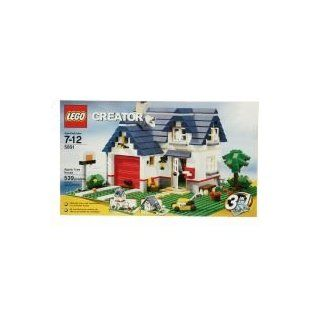 Lego Creator 3 in 1 Apple Tree House Townhouse Summer House 5891 539 PCS 7 12: Toys & Games