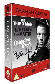 Graham Greene Collection (The Third Man / The Heart of the Matter / Brighton Rock / Fallen Idol) 4 DVD Box Set [NON USA FORMAT, PAL REGION 2, IMPORT]: Richard Attenborough, Orson Welles, Joseph Cotten, Alida Valli, Trevor Howard: Movies & TV