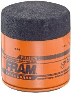 Fram PH3387A Extra Guard Passenger Car Spin On Oil Filter, Pack of 1 Automotive