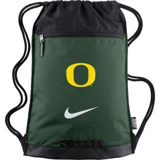 NIKE Oregon Ducks Training Drawsting Backpack, Green