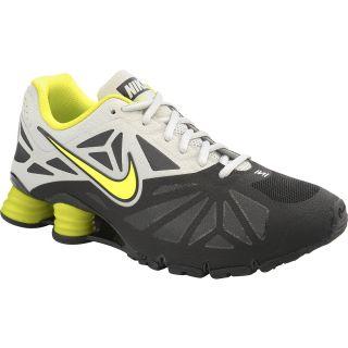 NIKE Mens Shox Turbo 14 Running Shoes   Size 10, Black/grey