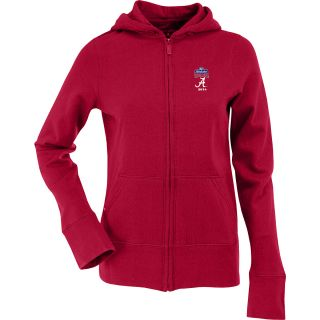 Antigua Womens Signature Hooded Jacket w/ Sugar Bowl Alabama Crimson Tide Logo