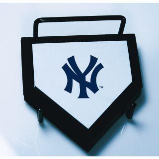 Schutt New York Yankees Home Plate Coaster 4 Piece Set Features Team Logo on