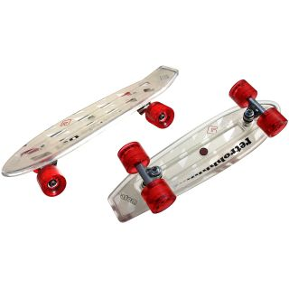 Atom 21 Mini Retroh Molded Skateboard   Choose Color, Clear (91063)