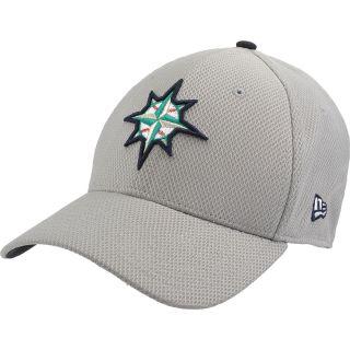 NEW ERA Mens Seattle Mariners Custom Design 39THIRTY Stretch Fit Cap   Size: