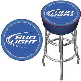 Trademark Global Bud Light Blue Bar Stool (AB1000 BL)
