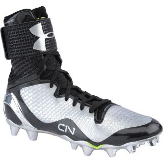 UNDER ARMOUR Mens Cam Highlight MC High Football Cleats   Size: 9.5, Black
