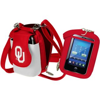 Charm 14 Oklahoma Sooners PursePlus Touch Clear Window Touch Screen Phone