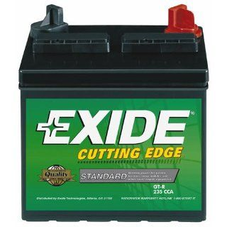 Exide Technologies 12V L&G Tractor Battery Gt R Lawnmower/Motorcycle Batteries: Automotive