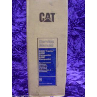 Caterpillar 824C/825C/826C OEM Service Manual SENR7828 Caterpillar 824C/825C/826C Books