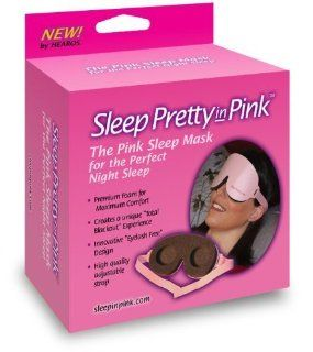 SLEEP PRETTY IN PINK EYE MASK Size 1 Health & Personal Care