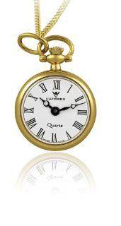 Catorex Women's 570.6.12349.110 Les petites 18k Gold Plated Brass Pendant Watch Watches