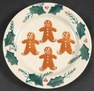 Hartstone Gingerbread Salad Plate, Fine China Dinnerware: Kitchen & Dining