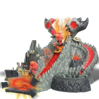 Giochi Preziosi   Gormiti Cartoon Series 1 Play Set Mega Volcano with Figure: Toys & Games