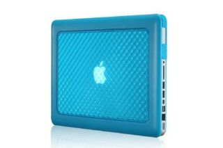 "Osaka DIAMOND series Aqua Blue Case / Cover for 13"" A1278 Aluminum Unibody MacBook Pro (Black keys, 13.3 inch diagonal screen) Computers & Accessories"